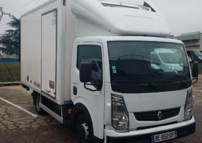 PHOTOS RENAULT MAXITY CHASSIS CABINE HAYON 13 m3