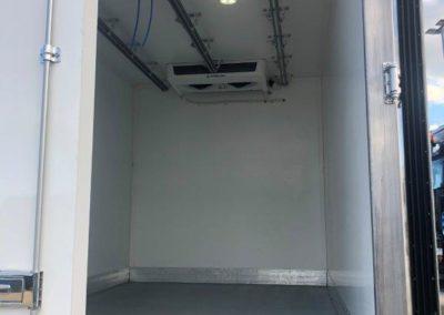 Améngement rail frigo boucherie