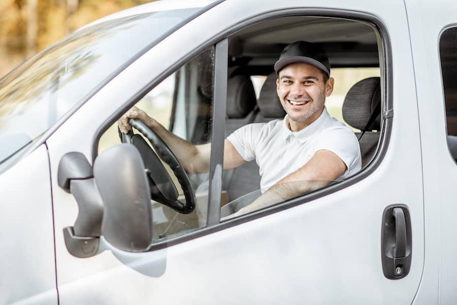 chauffeur véhicule utilitaire
